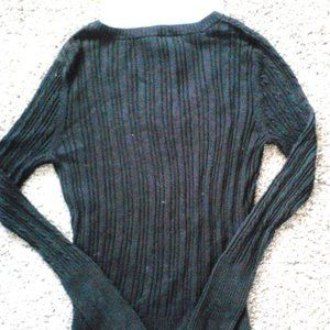 Fitted Long Sleeve Sweater